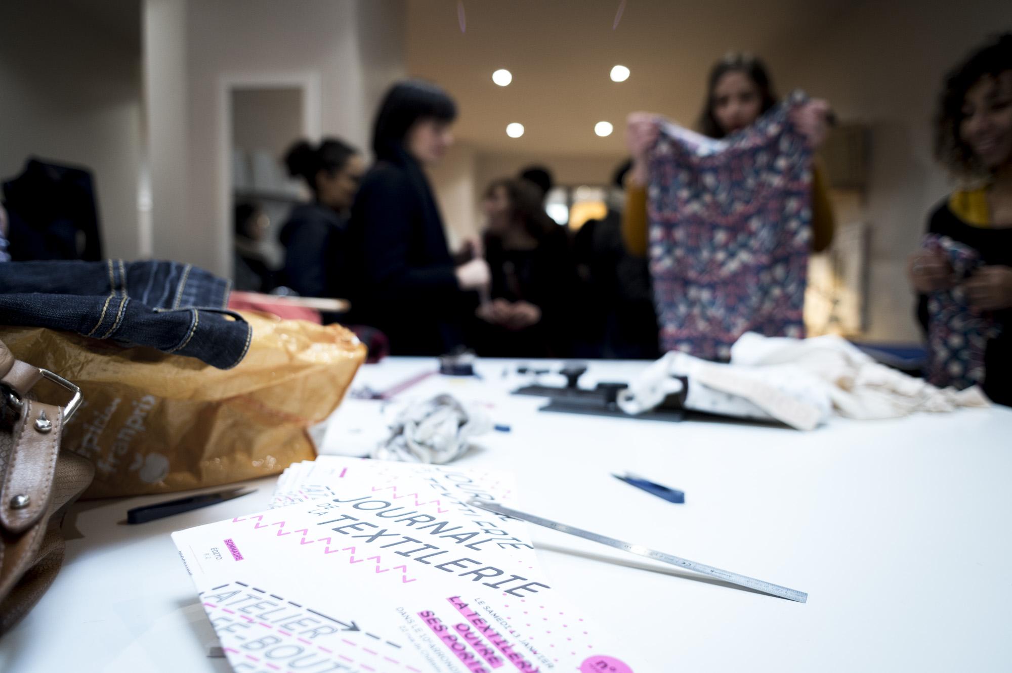 Journée portes ouverte La Textilerie Paris