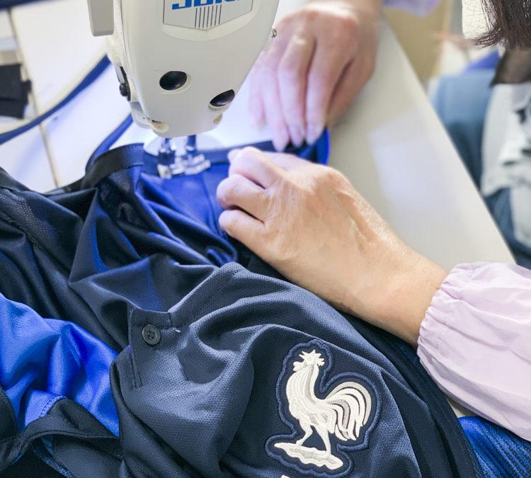 Des maillots de l'équipe de France recyclés pour les enfants malades
